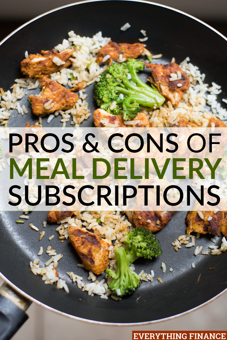 Have you been thinking about signing up for one of the many meal delivery subscriptions available? Here are the pros and cons to make your decision.