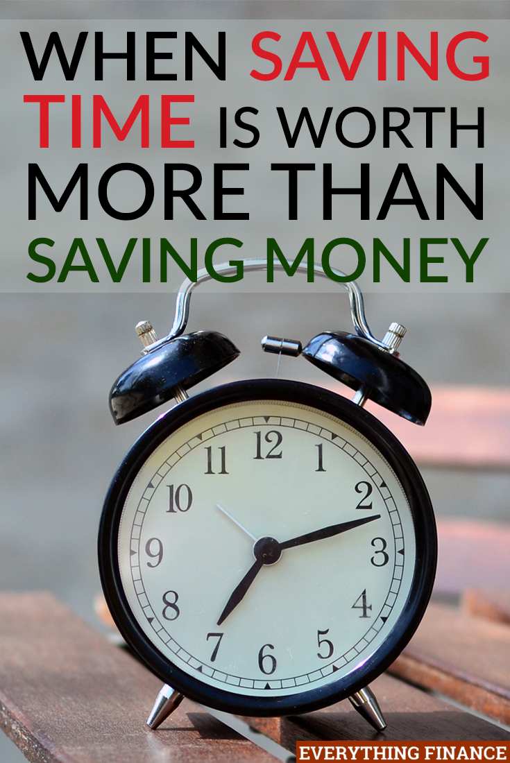 Saving time over money can be a luxury, but is it always wise to spend hours trying to save a few dollars? Here are 3 times it's not worthwhile.