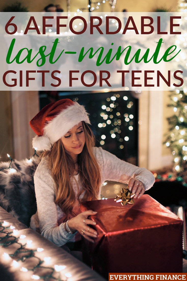 Teenagers can be hard to shop for around the holidays, but you won't go wrong with these 6 affordable last-minute gifts for teens. Every teen can use them!