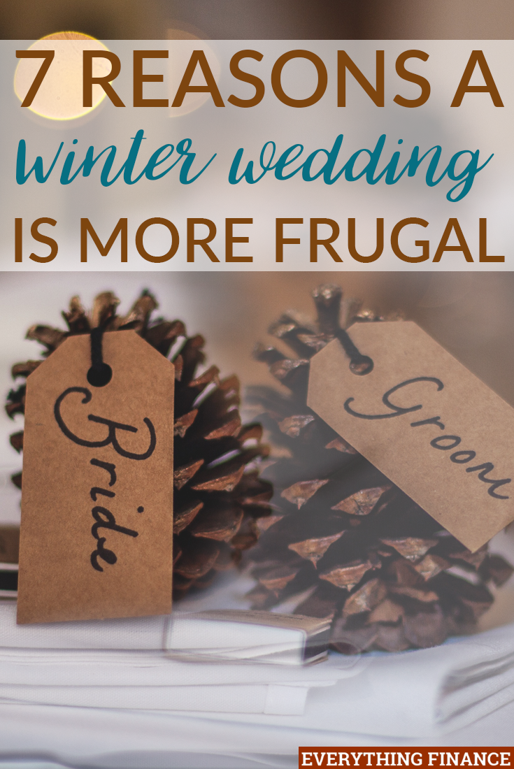 A winter wedding might not be on your wish list, but if planned right, a winter wedding can be just as beautiful, while also being kind to your budget.