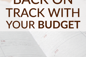 The holidays are over. It's a new year. It's time to get back on track with your budget. But how? Use these 3 tips to stay the course!