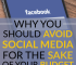 Social media might seem like a harmless way to stay connected, but it can harm your budget. Here are a few reasons you might want to avoid social media.