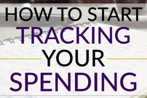 The first piece of financial advice most people give is to create a budget, but you need to know how to start tracking your spending beforehand.