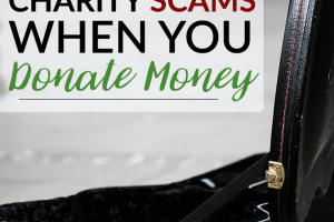 Unfortunately, there are scammers and untruthful people who try to act like charities. Here's how you can avoid charity scams when you donate money.