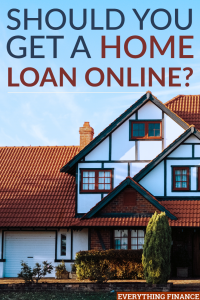 Should you apply for a home loan over the Internet? There and pros and cons to using an online lender for your home mortgage.