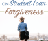 Student loan forgiveness is not available for many. Instead of counting on your loans being forgiven, make a plan to pay them off as quickly as possible.