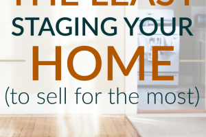 An often overlook part of selling your home is how it's staged. But you don't have to spend a lot of money staging your home. Here's how to do it cheaply.