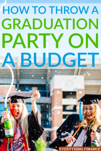 Don't go overboard with your graduation party. Get a little creative and follow these tips to throw a graduation party that sticks to your budget.