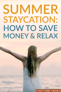 A staycation is where you enjoy the benefits your own city has to offer. It makes it easy to enjoy time off without spending a lot of money on vacation.