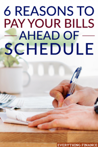 Aunque pagar sus facturas en la fecha de vencimiento hace el trabajo, es posible que no conozca los beneficios adicionales de pagar sus facturas antes de lo programado.