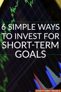 Even though investing likely elicits thoughts of long-term financial goals, there are ways to invest for some of your short-term goals too.