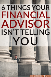 Unfortunately, just because someone says they're a financial advisor might not mean that they truly are or that they have your best interest at heart.