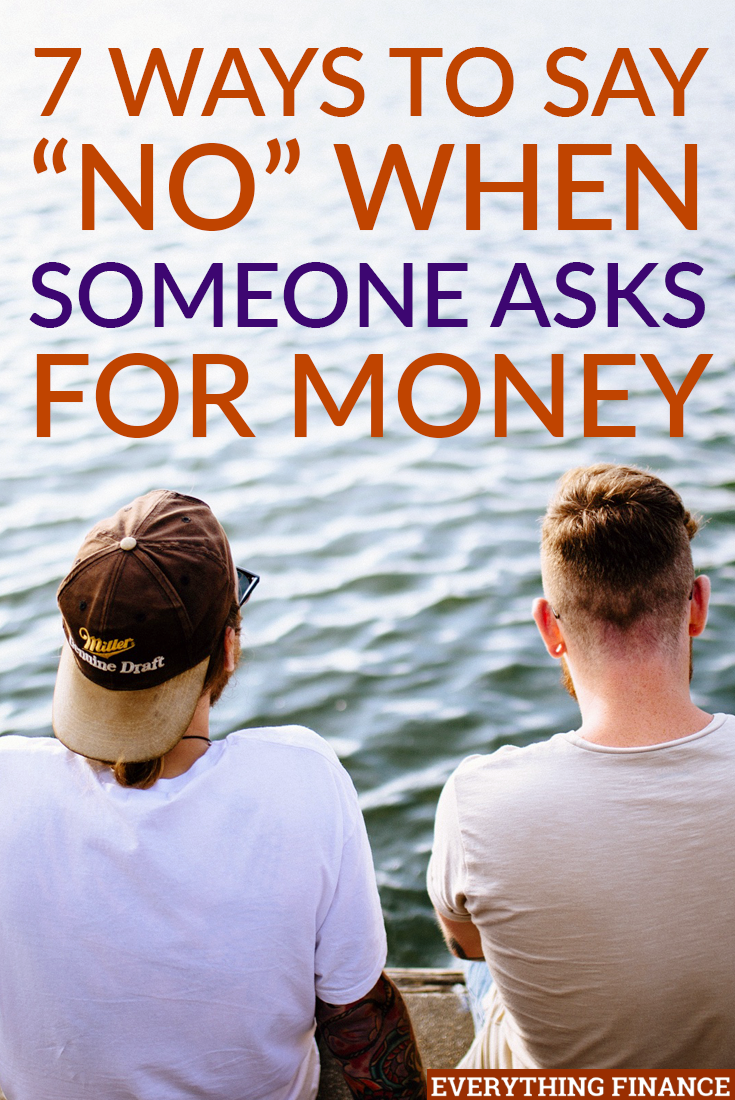 7 Ways to Politely Say No When Someone Asks for Money