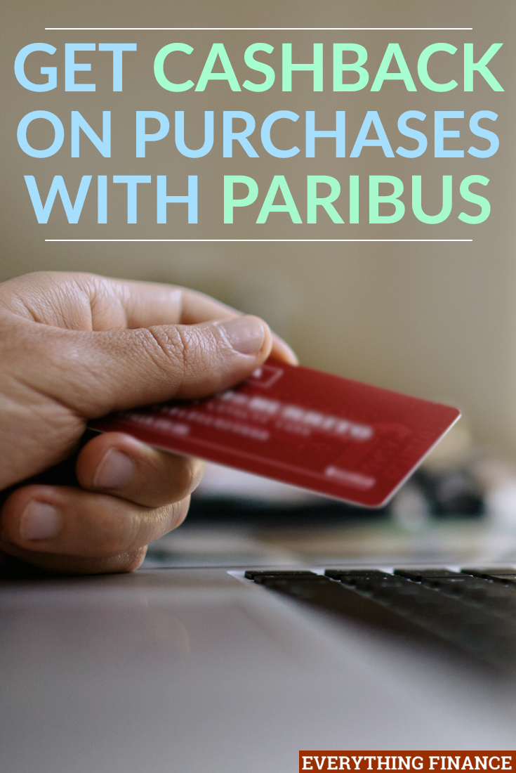 Get Cashback on Purchases with Paribus