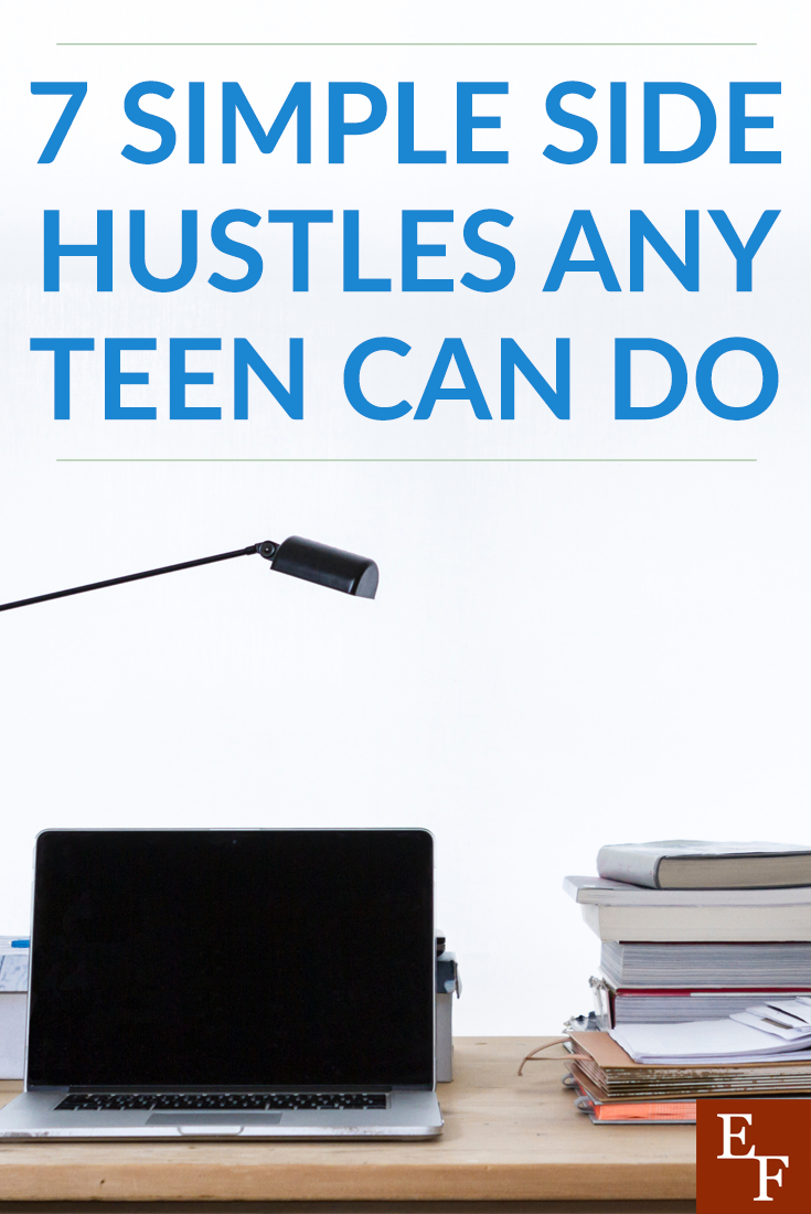 Teens: don't give up on earning your own money. Check out these side hustles any teen can do and you'll be earning money in no time!