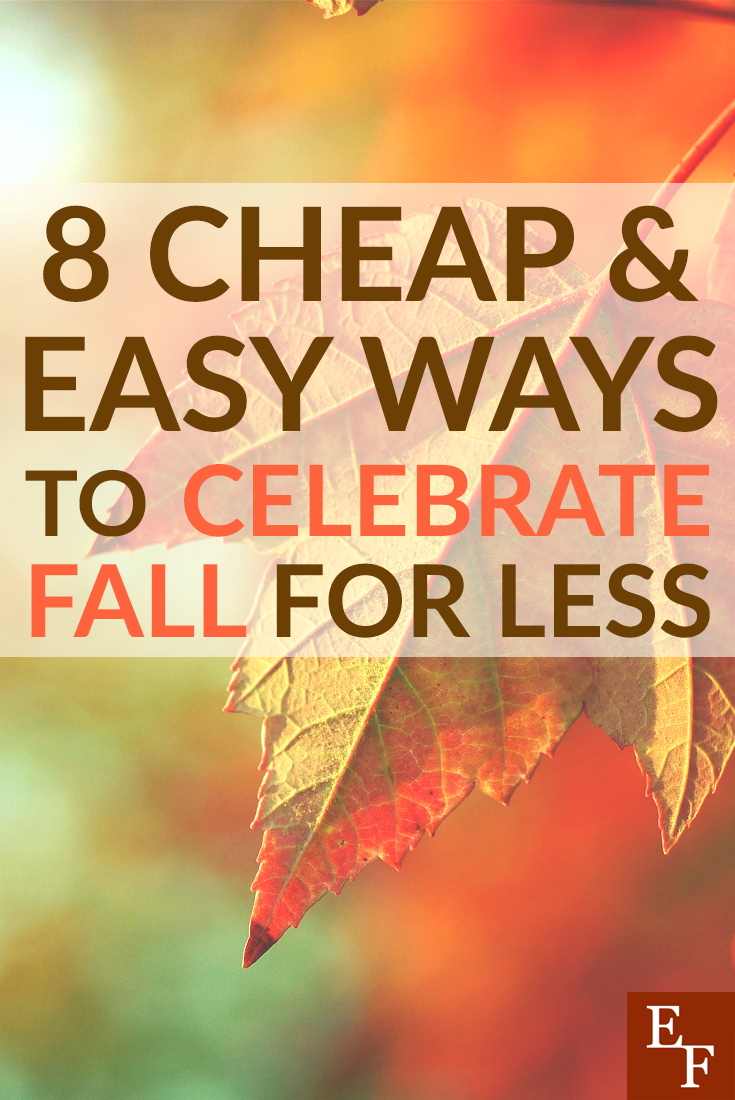 You don't have to spend a lot of money to celebrate fall making it's first appearance. Here are a few cheap and easy ways to celebrate fall for less!