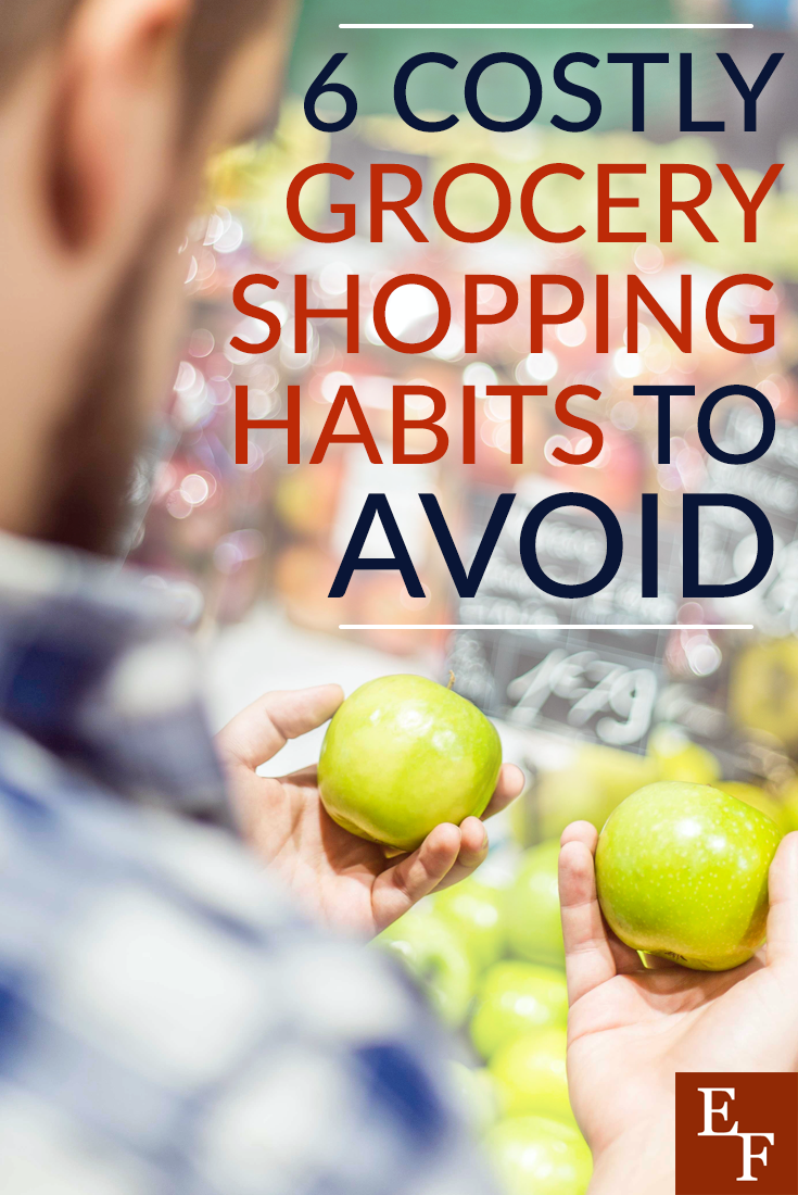 One of the most effective ways to slash your grocery bill is to get rid of your bad grocery shopping habits. Here are six habits you should give up today.