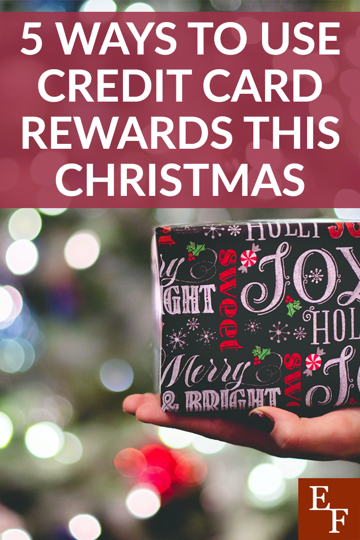 Finding smart ways to use credit card rewards this Christmas can help you save money and feel less stressed about this expensive time of year.