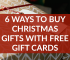 Christmas gifts are expensive, but you can save by finding and using free gift cards to pay for gifts for the loved ones on your shopping list this year.