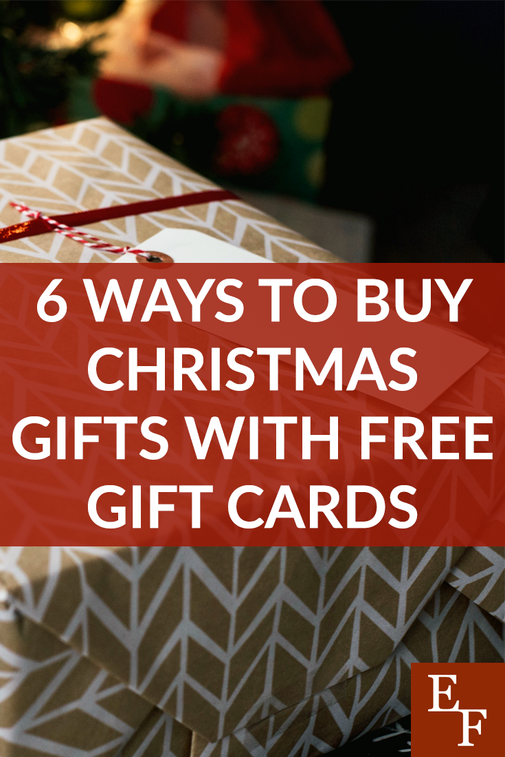 6 Easy Ways to Get Free Gift Cards for Buying Christmas Gifts