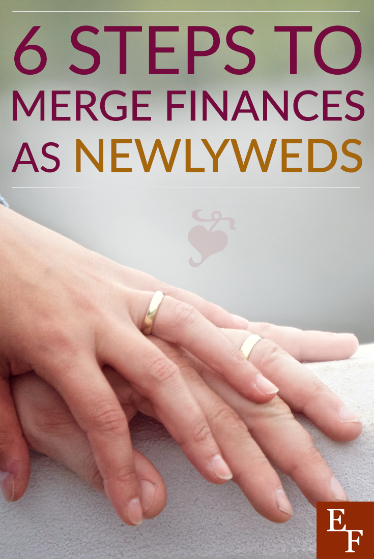 One of the toughest things to do as a newly-married couple is to merge your finances. But, these simple steps will lead to financial and wedded bliss.