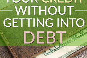 There are several ways you can work to improve your credit. Here are a few ways to increase your credit score without taking on additional debt.