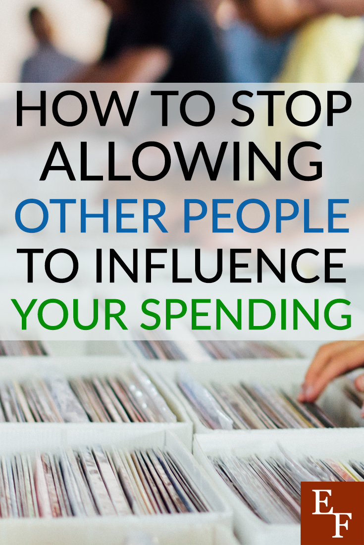 Don't allow others to influence your spending or budget negatively. Be open and honest and find what works for you in order to stick to the habits that suit you.