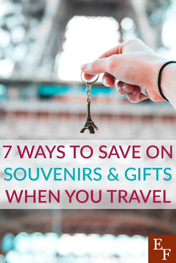 Don't spend your entire travel budget on souvenirs. Here are a few easy ways you can save on souvenirs and remember your trips for a lifetime.