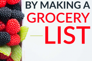 Do you make a grocery list? If not, these might be good reasons to start! You can save on groceries if you have a list. Here are some specific ways that a list will help you save money.