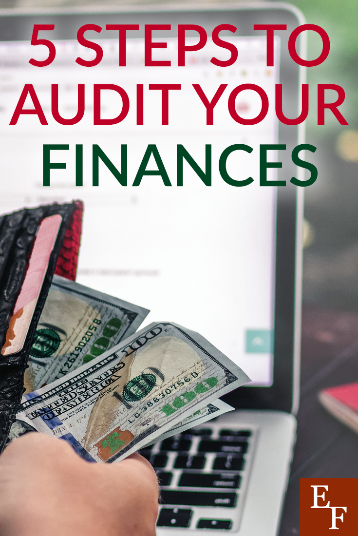Do you ever audit your finances? It sounds like a scary word, but it's just a review to see where you stand. Here's how you can easily audit your finances.