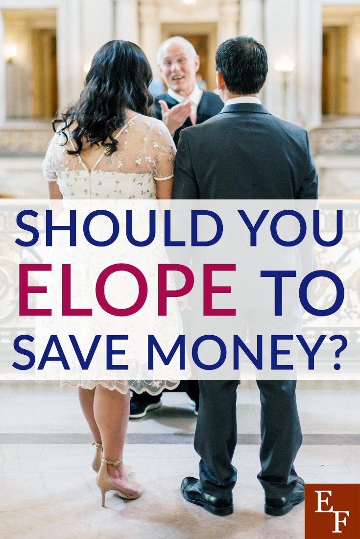 Thinking about eloping for your wedding? Here are some of the pros and cons you might see if you decide to elope to save money.
