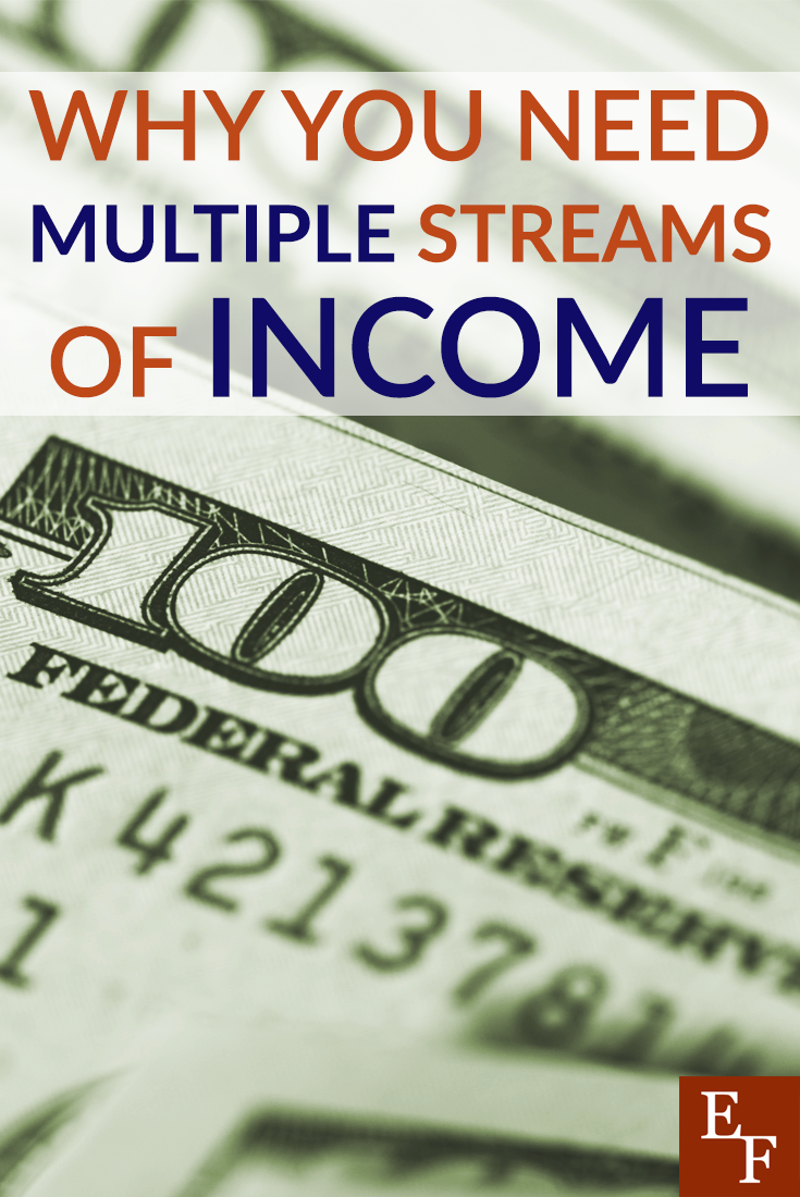 Having multiple streams of income can make your life less financially stressful and help you reach your goals faster.
