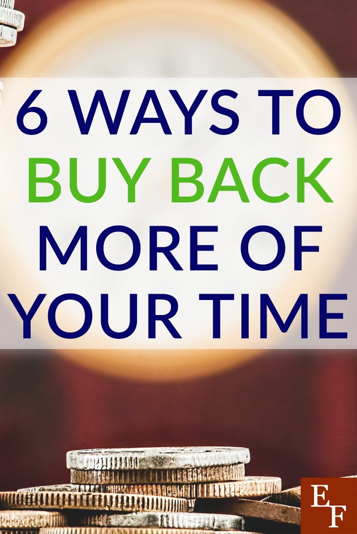 Time is one resource you can never get back. Here are a few simple ways you can buy back more of your time by spending a little bit of money.