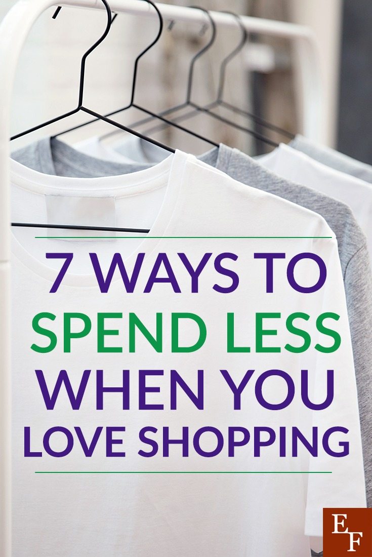 You don't have to give up shopping entirely, especially if you truly love shopping. Instead, use these tips to help you avoid overspending, and don't forget to use the coupon codes from to help you even more!