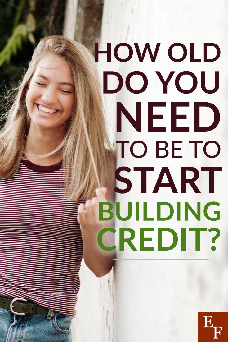 How old do you have to be before you can start building credit? Here's the answer plus a few ways you can start building a solid credit score.