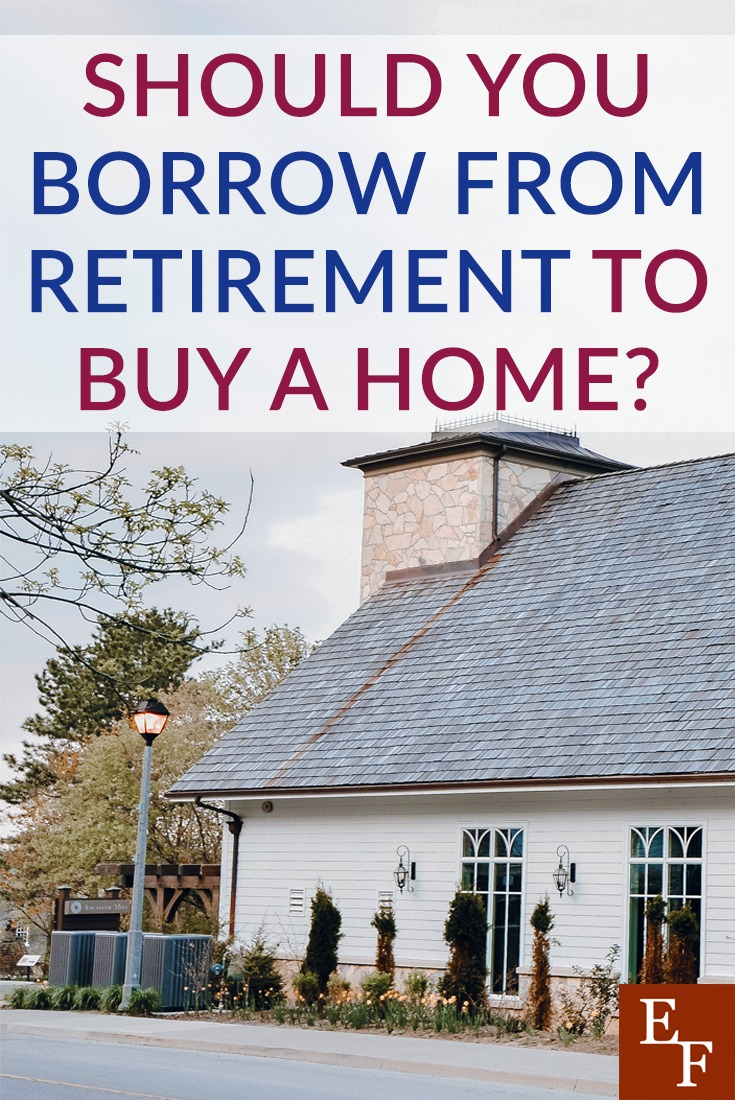 It's usually not a good idea to borrow from retirement, even if it's to buy a home. Here are some things to consider before you borrow from your retirement.