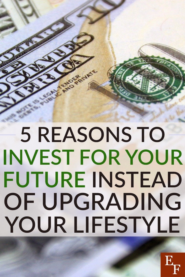 It's tempting to live for the moment instead of saving for the future, but by deciding to invest in your future instead of upgrading, you'll gain much more!