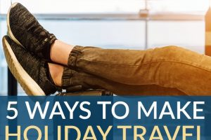 Traveling for the holidays? Don't stress about overspending. Here's how to make your holiday travel frugal and easy this year!