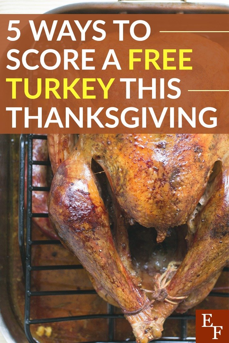 Scoring a free turkey for Thanksgiving isn't impossible. You just need to think outside of the box. These ideas can help you do just that!