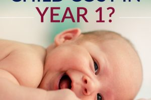 Having a child will cost you THOUSANDS, just in the 1st year alone! Find out how that all adds up in this comprehensive guide.