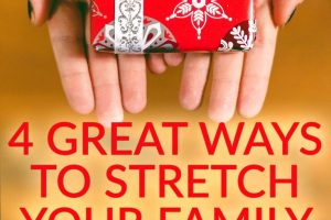 Christmas can be an expensive ordeal if its not done right. So here are some great tips to stretch your family Christmas budget this year!