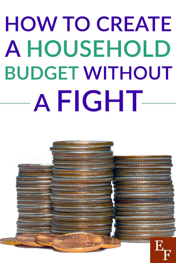 Being on the same page financially with your spouse is truly benefical. There is ways to create a housebold budget without getting upset with each other.