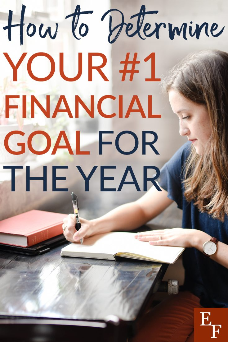 Setting financial goals can be exciting and intimidating but less is more. Here's how you can determine your top financial goal.