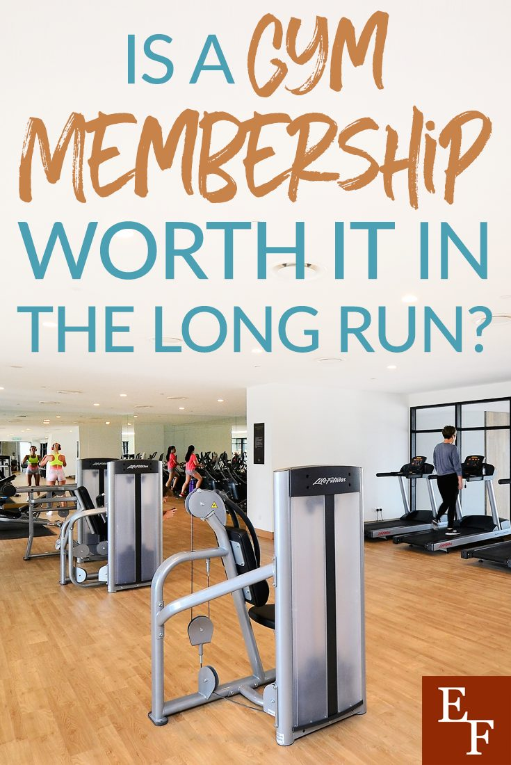 Ringing in the New Year comes with the infamous New Year's Resolutions. Getting a gym membership tops the list of resolutions. Is it really worth it?