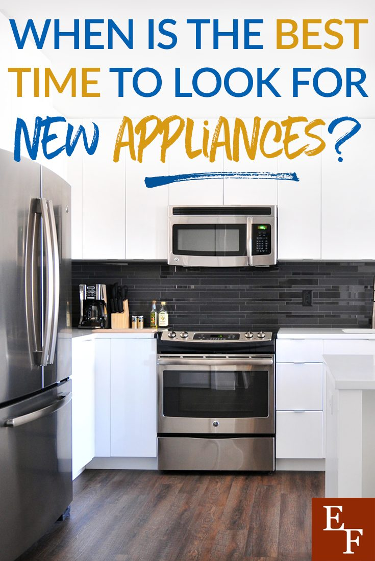 Part of living in today's society means having to replace our appliances more often than years past. But when is the best time to get the best deal?