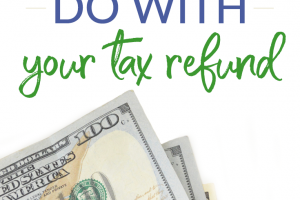 5 Things You Shouldn't Do With Your Tax Refund