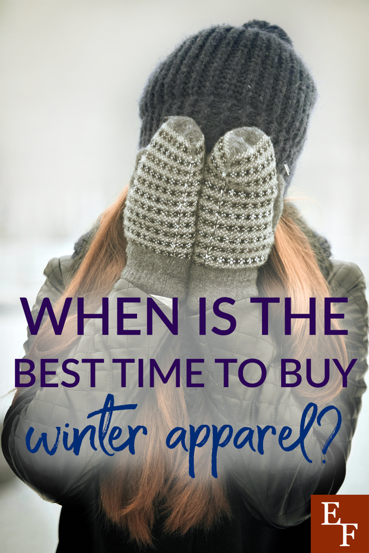 It might still be winter outside, but when is the best time to purchase winter apparel to get the most bang for your buck?