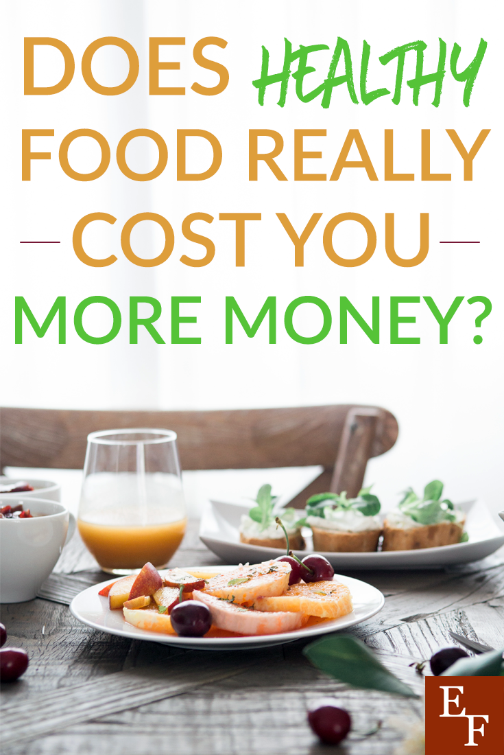 average cost of healthy diet per month