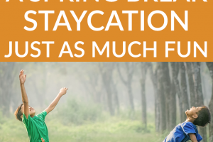 Spring break can be a great time, but fairly expensive to travel. So we give you some ways to create a spring break staycation that is just as much fun!