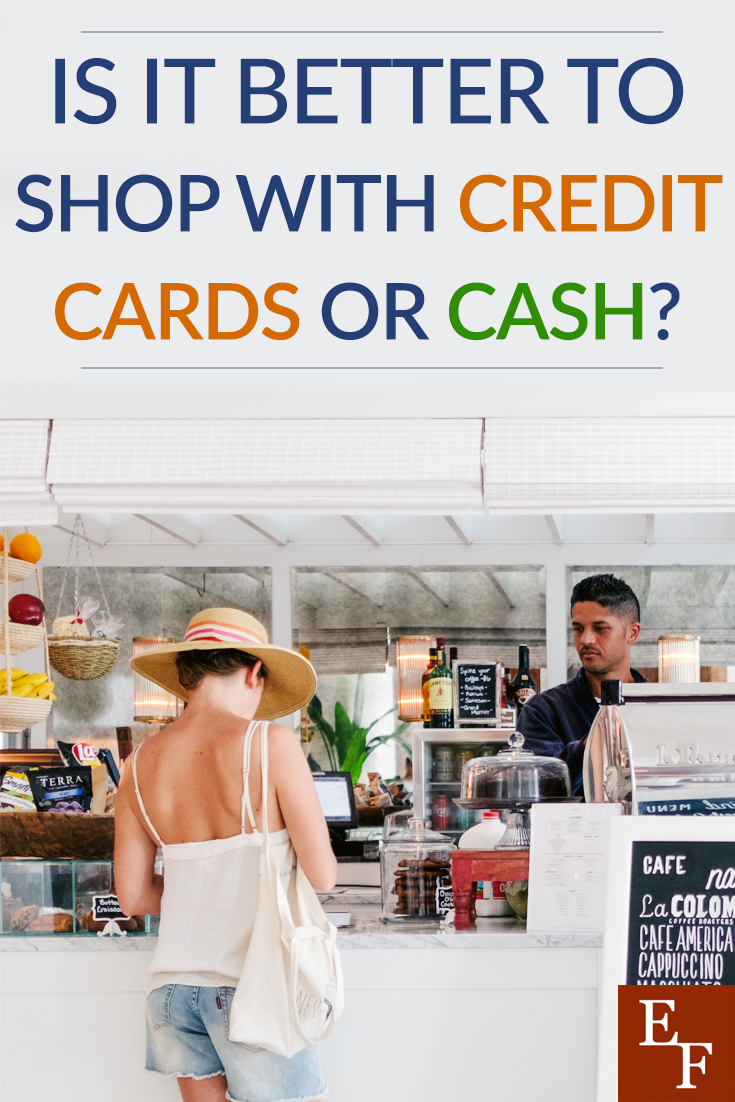 Doing regular shopping can end up being a chore, and potentially cost you some money. So, is it better to shop with credit cards or cash?